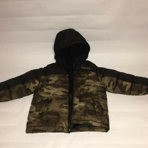 Pacific Trail Camo Winter Puffer Coat Jacket 3T
